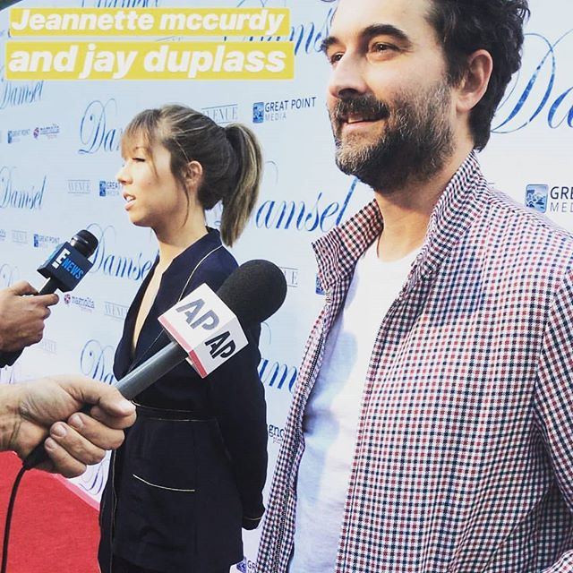 Jennette McCurdy and Jay Duplass